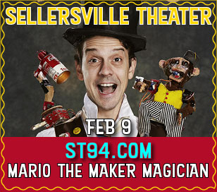 The best kids magician in the world, according to David Blaine! An award winning children's performer, Mario is known for his integration of DIY electronics and robotics into his show. It's a modern take on old school vaudeville and slapstick. It's upbeat, interactive, rock and roll, and hilarious. Mario has appeared on Sesame Street and Sprout and has toured North America. His show is ideal for ages 3-11 and their families.