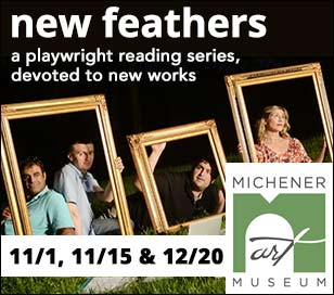New Feathers: A Playwright Reading Series presents new, literary works from award-winning playwrights of the region, including the Princeton Witherspoon Circle! On December 20th, New Feathers will unveil a specially selected, new theatrical, full-length play. Professionally casted, directed and performed as a most entertaining reading. A perfect industry-inside view of the creative, theater process. Audience engagement encouraged. Title and playwright, TBA. Show ticket includes museum general admission for each performance, pre-show gathering at 6:15 - 6:45 with light refreshments served and the featured performance at 7 pm, with one 15-minute intermission. Galleries remain open until 9 pm.