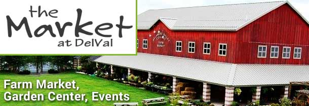 Produce, wine, meals, dessert, organic meat, hormone-free milk, gourmet cheese, ice cream, garden center, events.